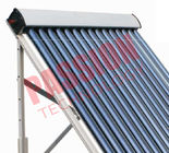 20 Tubes Heat Pipe Evacuated Tube Solar Collectors For Swimming Pool