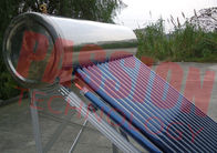 Simple Structure Heat Pipe Solar Water Heater With Copper Heat Tube 6 Bar