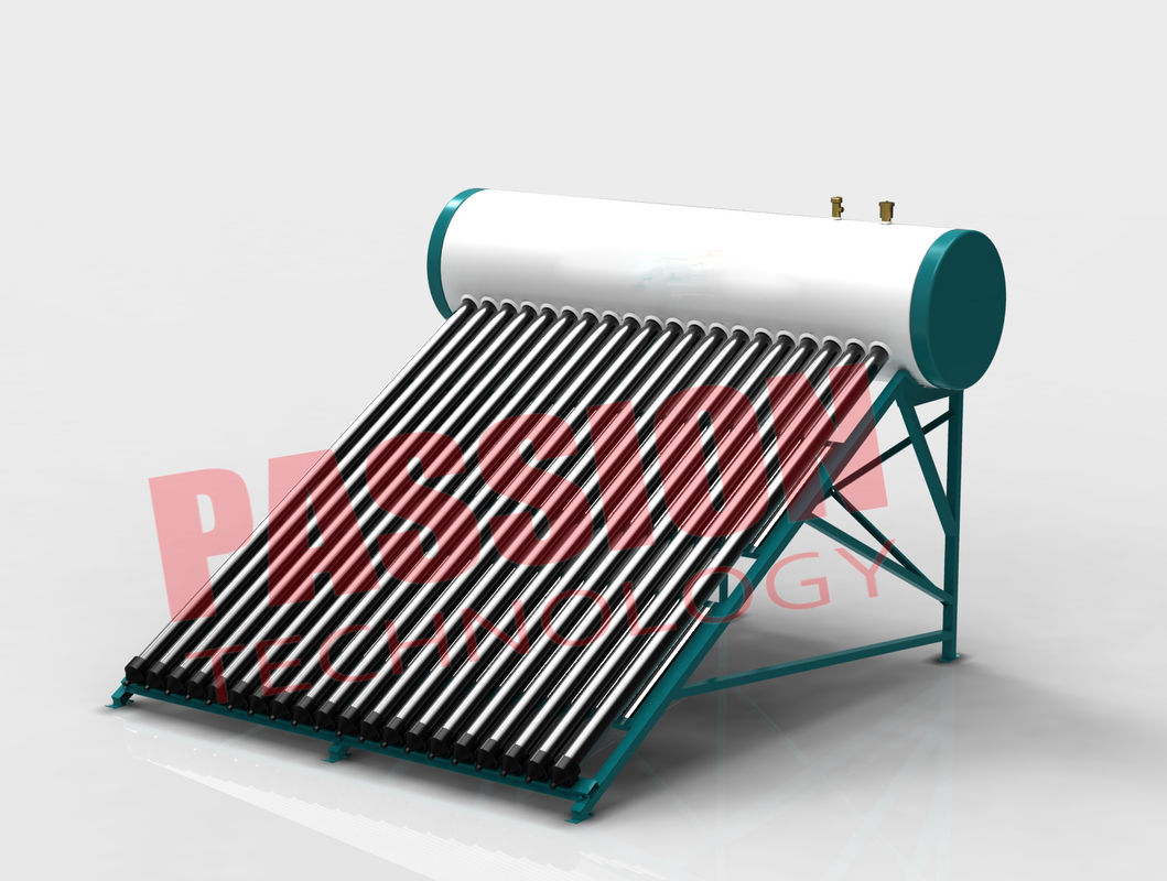 Professional Integrated Heat Pipe Solar Water Heater Portable 240L Capacity