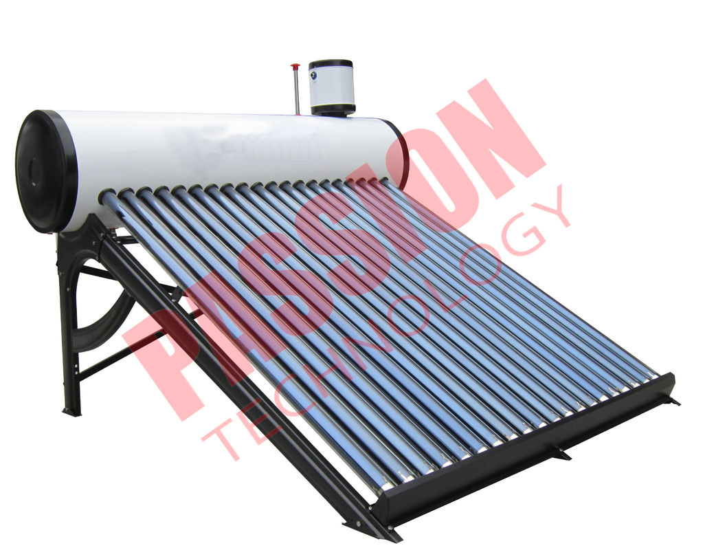 Passive Solar Water Heater Pressurized , Solar Preheat Hot Water Heater 180L