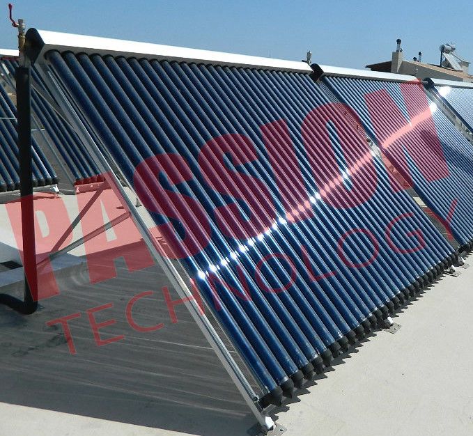 High Powered Solar Collector Heat Pipe , Solar Hot Water Collector 30 Tubes