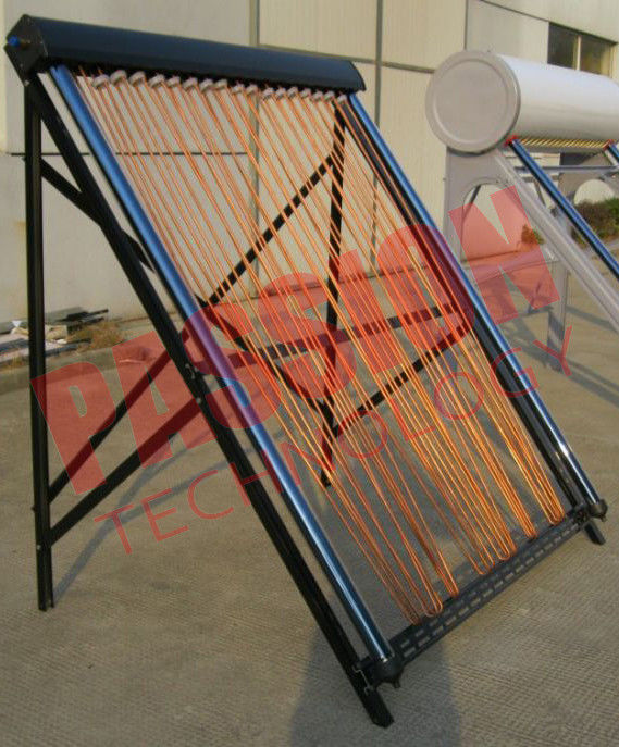 U Pipe Collector For Split Tank , 30 Tube Solar Collector Pitched Roof Assembly