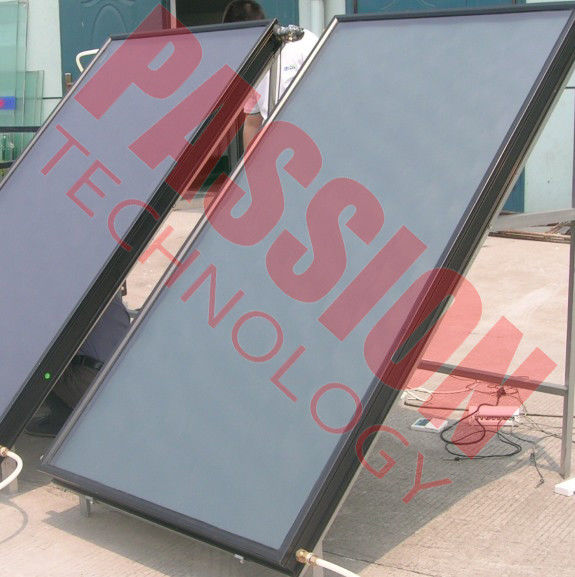 No Leakage Thermal Solar Collector Natural Circulation Easy Installation