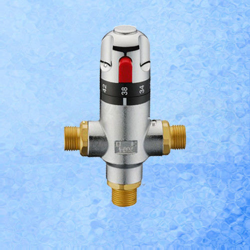 Brass Adjustable Water Thermostatic Mixing Valve